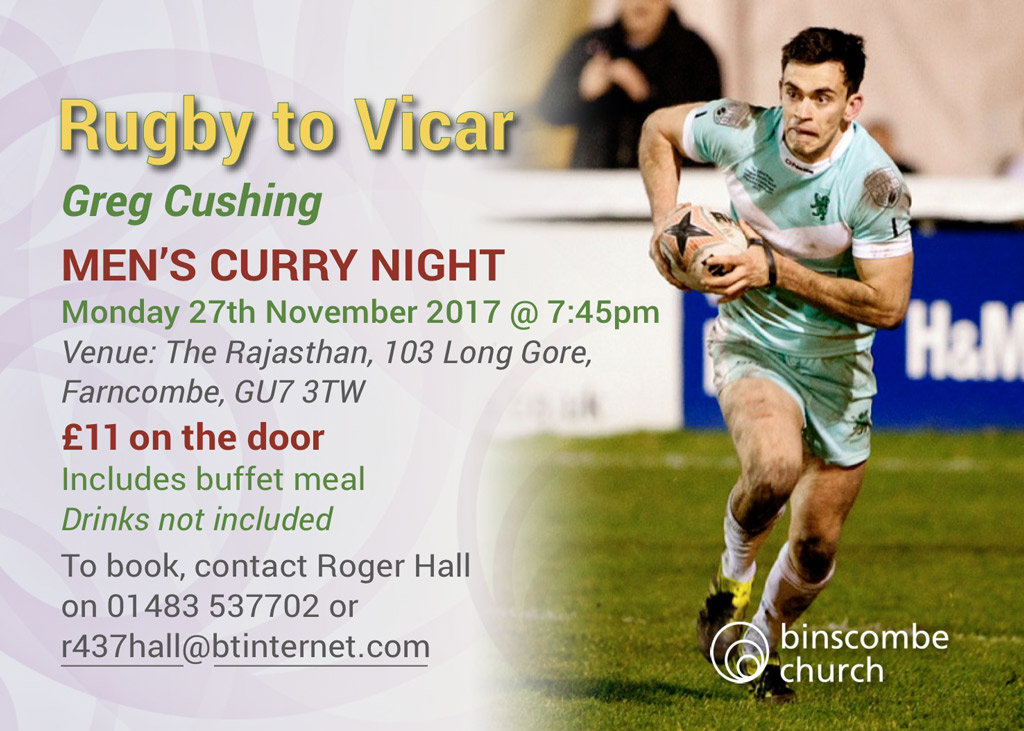 rugby to vicar